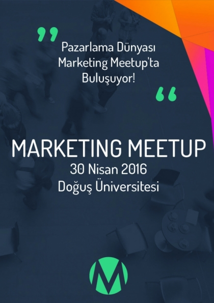 Marketing Meetup Etkinlik Afişi