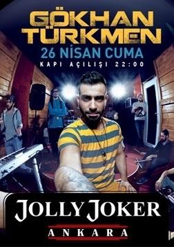 Gökhan Türkmen Ankara Konseri Etkinlik Afişi