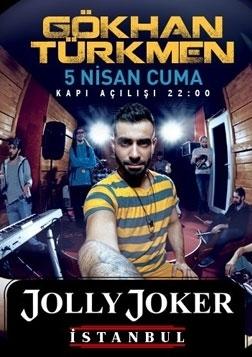 Gökhan Türkmen Konseri Etkinlik Afişi