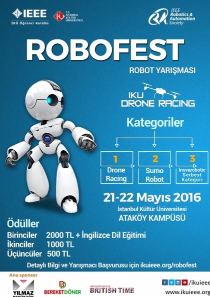 Robofest Robot Yarışması Afişi
