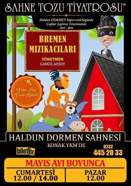 Bremen Mızıkacıları Afişi