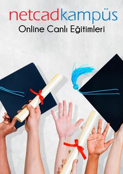 Excanet Proje Uygulamaları - İnternet Üzerinden Canlı Eğitim Afişi