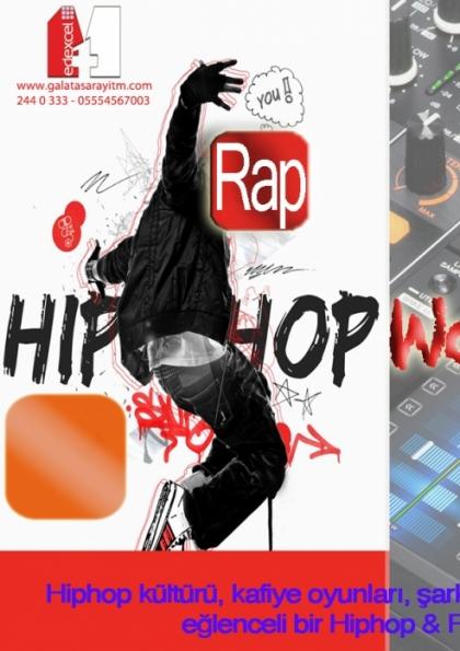 HipHop & Rap Atölyesi Afişi