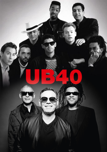UB40 Konseri Etkinlik Afişi