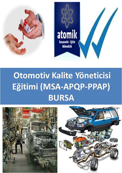 Otomotiv Kalite Yöneticisi Eğitimi (MSA-APQP-PPAP) BURSA