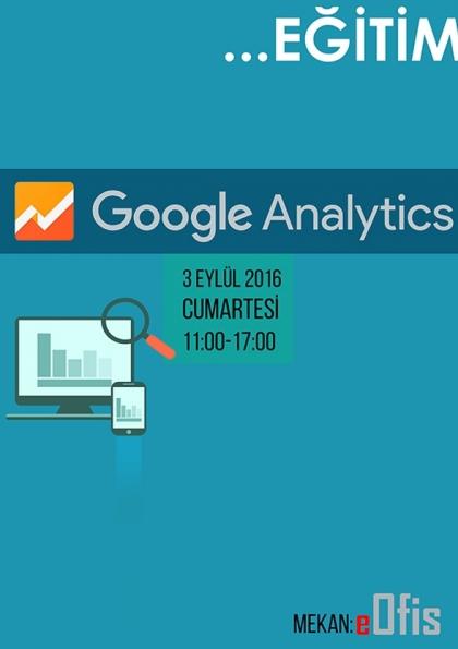 Google Analytics Eğitimi Afişi