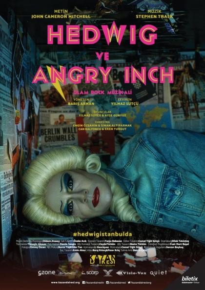 Hedwig ve Angry Inch / Broadway Müzikali Afişi