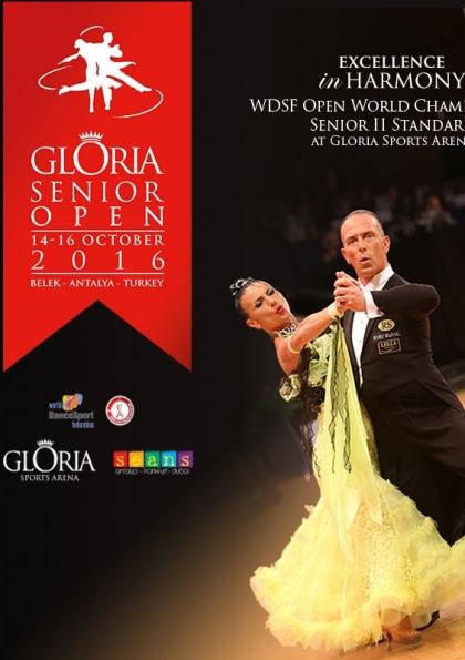 Gloria Senior Open Dünya Şampiyonası Afişi