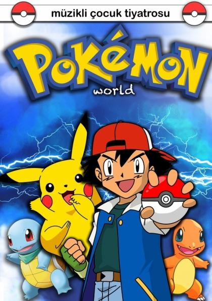 Pokemon World Etkinlik Afişi