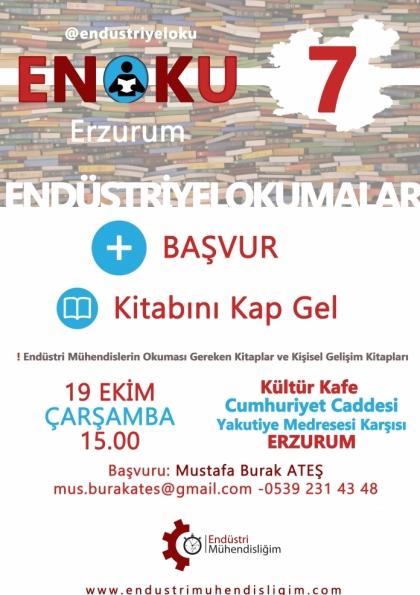 Endüstriyel Okumalar (ENOKU) 7 - ERZURUM Etkinlik Afişi