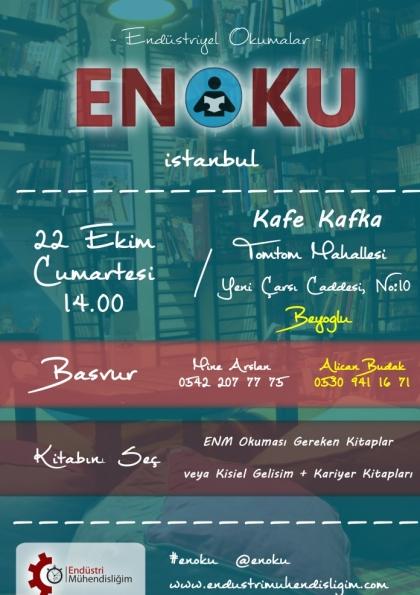 Endüstriyel Okumalar (ENOKU) 8 - İSTANBUL Afişi