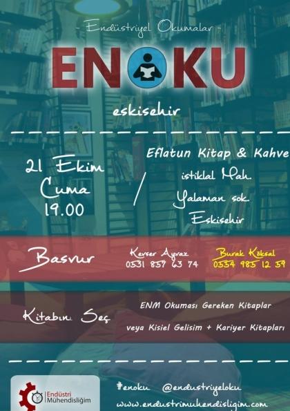 Endüstriyel Okumalar (ENOKU) 9 - Eskişehir Etkinlik Afişi
