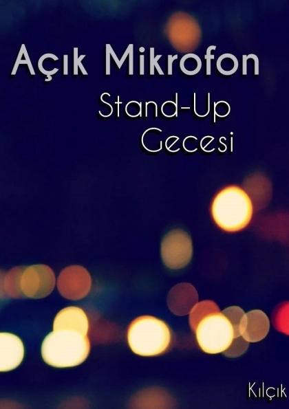 Açık Mikrofon Stand-Up Comedy Afişi