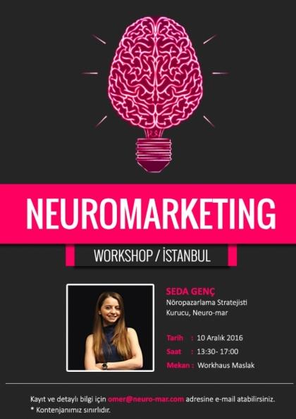 Neuromarketing Workshop Afişi