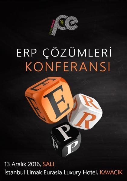 ERP Çözümleri Konferansı Etkinlik Afişi
