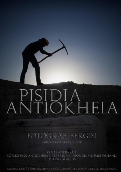 PISIDIA ANTIOKHEIA FOTOĞRAF SERGİSİ Afişi