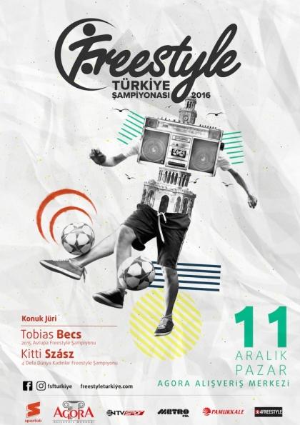 Freestyle Futbol Türkiye Şampiyonası 2016 Afişi