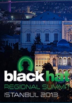 Black Hat Regional Summit İstanbul (Ertelendi) Etkinlik Afişi