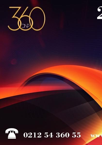 2. 360 LOJİ&TED KONFERANSI Etkinlik Afişi