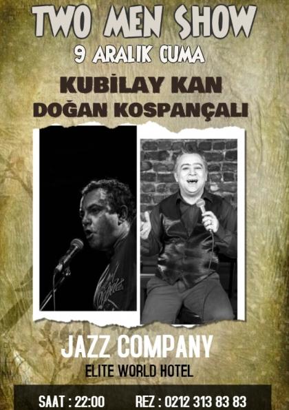 Two Men Show // Kubilay Kan & Doğan Kospançalı JAZZ COMPANY' de.. Afişi
