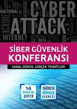 Siber Güvenlik Konferansı '13 Etkinlik Afişi