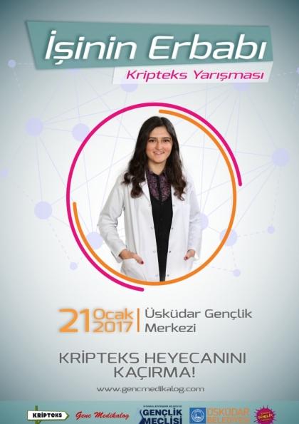 İşinin Erbabı Projesi / TRT Kripteks Yarışması Etkinlik Afişi