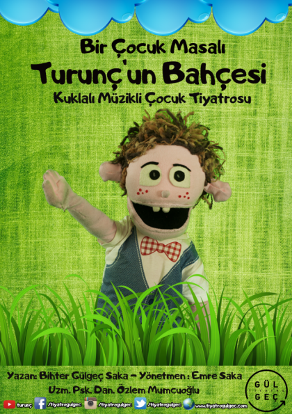 Bir Çocuk Masalı Turunç'un Bahçesi (Çocuklar İçin Kukla tiyatrosu) Afişi