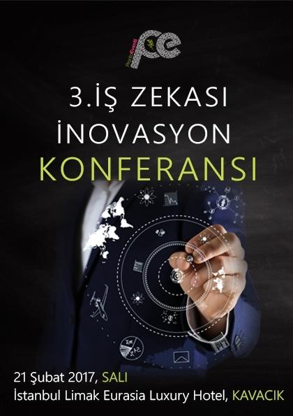 3.İş Zekası Inovasyon Konferansı Etkinlik Afişi