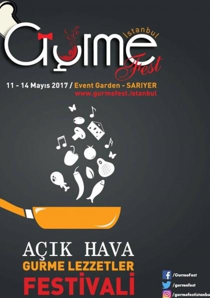 İstanbul Gurme Festivali Etkinlik Afişi