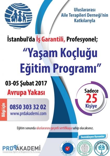 İstanbul Profesyonel Yaşam Koçluğu Eğitimi