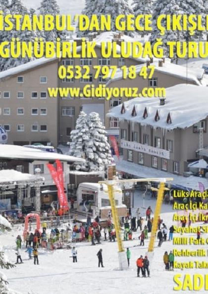 İstanbul'dan Uludağ turu Etkinlik Afişi