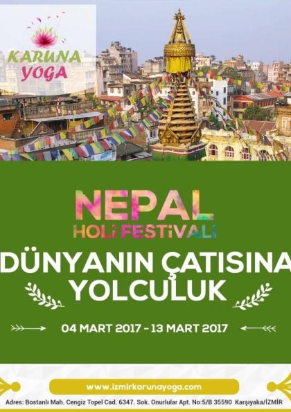 Dünyanın Çatısına Yolculuk - Nepal Afişi