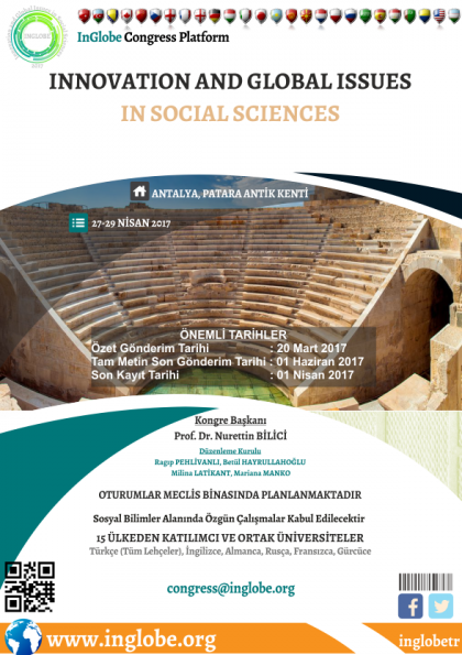 Innovation and Global Issues in Social Sciences 2017 Afişi