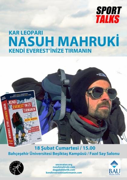 Sport Talks / Nasuh Mahruki Etkinlik Afişi