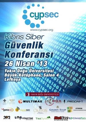 Kıbrıs Siber Güvenlik Konferansı - CypSec Etkinlik Afişi