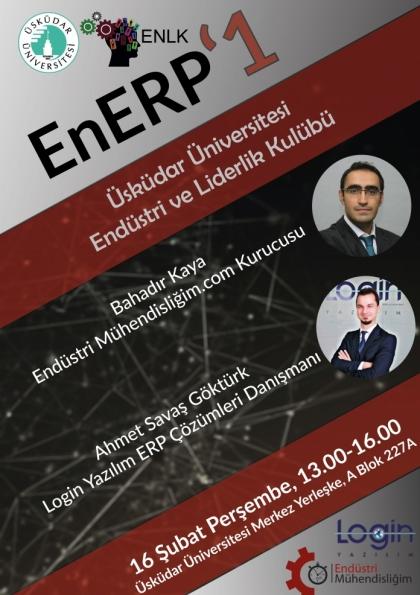 EnERP 1 İstanbul Etkinlik Afişi