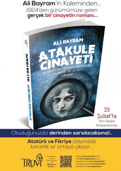 Ali Bayram Atakule Cinayeti Lansmanı Etkinlik Afişi