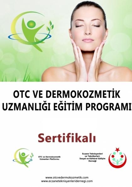 OTC ve Dermokozmetik Uzmanlığı Eğitim Programı Etkinlik Afişi