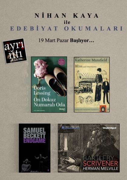 Nihan Kaya ile Edebiyat Okumaları