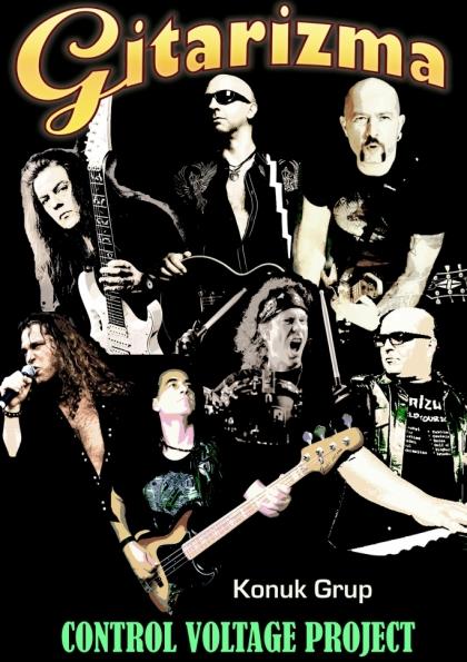 Gitarizma Mersin Konseri @ Donkishot Performance hall Afişi