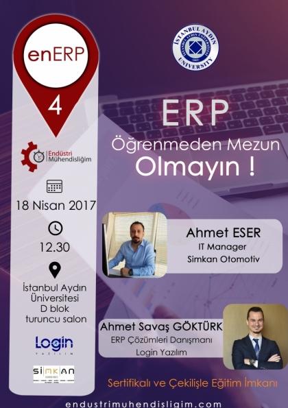 EnERP 4 İstanbul Etkinlik Afişi