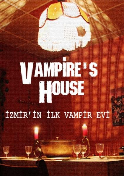 İzmir'in İlk Vampir Evi Afişi