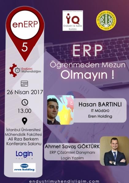 EnERP 5 İstanbul Etkinlik Afişi