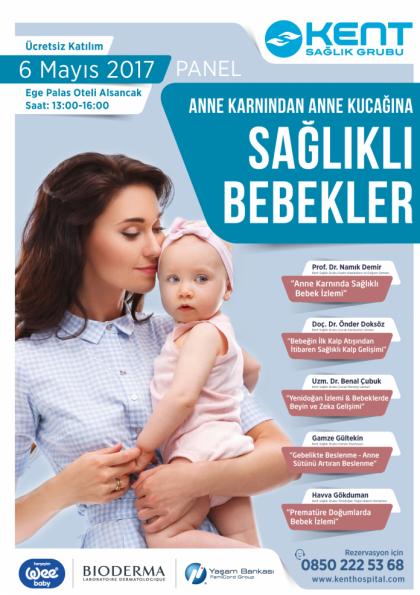 Anne Karnından Anne Kucağına Sağlıklı Bebek İzlemi Afişi