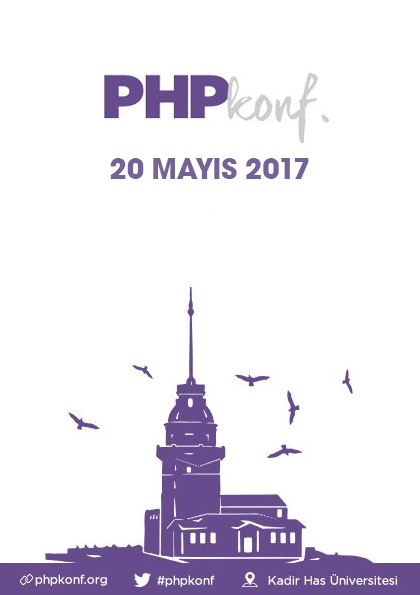 PHPKonf İstanbul PHP Konferansı 2017 Etkinlik Afişi
