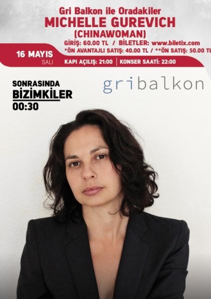 Gri Balkon ile Oradakiler: Michelle Gurevich (Chinawoman) Afişi