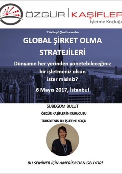 Türkiye Şartlarında Global Şirket Olma Stratejileri