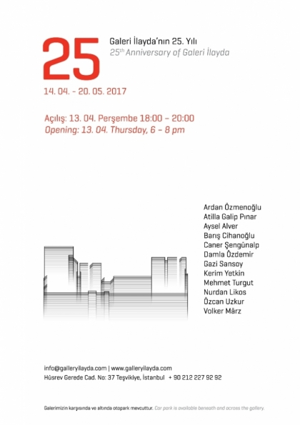 25 GRUP SERGİSİ Etkinlik Afişi