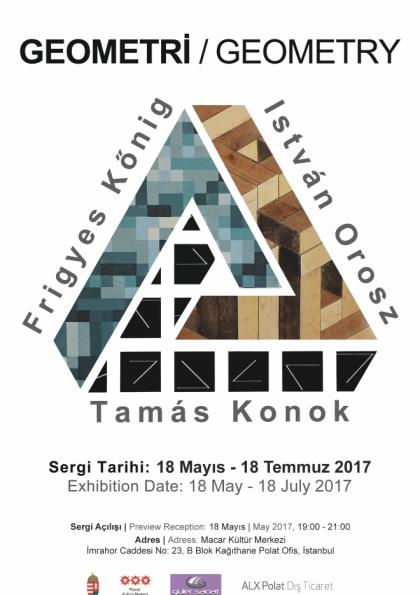 Geometri Sergisi Afişi