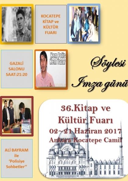 Ali Bayram ile Polisiye Sohbetler Etkinlik Afişi